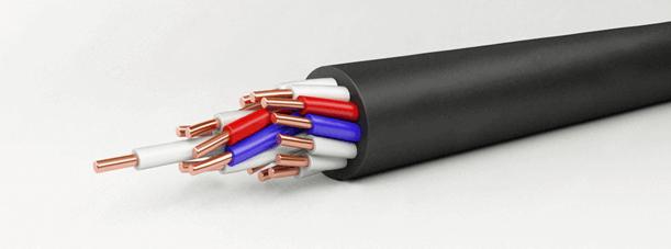 Конструкция контрольного кабеля