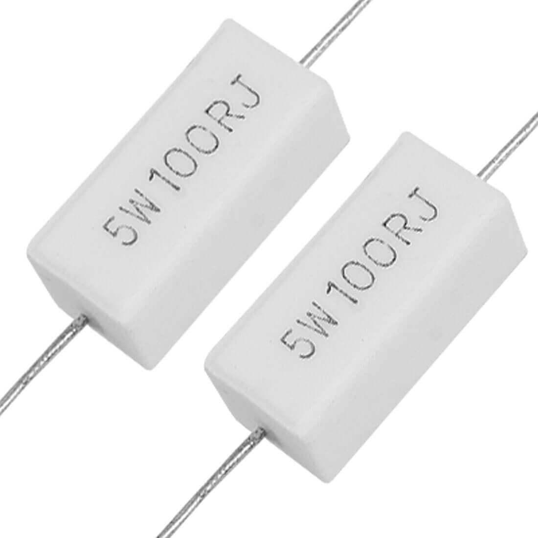 Обозначение на керамическом резисторе