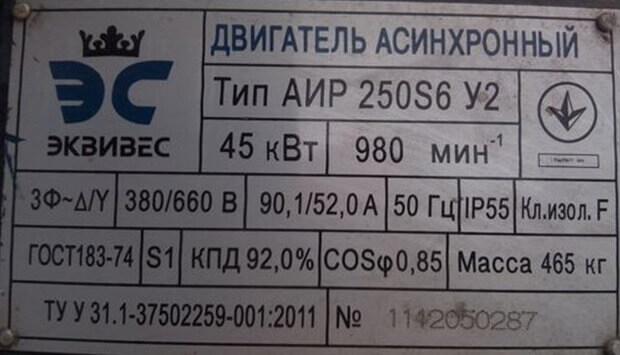 Двигатель 380/660