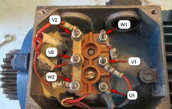 Подключение электродвигателя