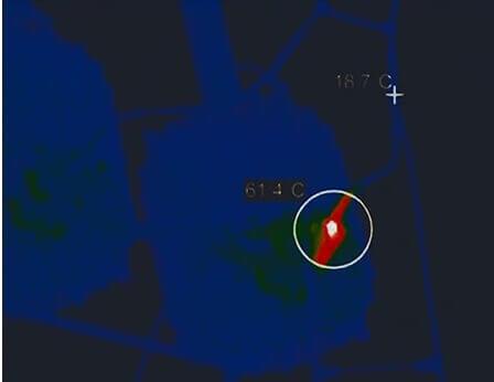Измерение температуры нагрева контактных соединений
