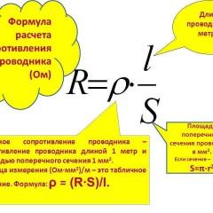 Как рассчитать сопротивление провода - инструкция с таблицами и формулами