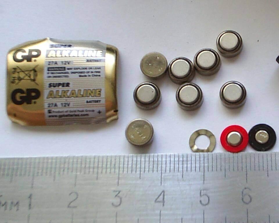 Батарейка 12 В