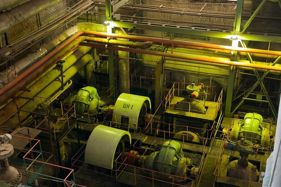 Оборудование на электростанции