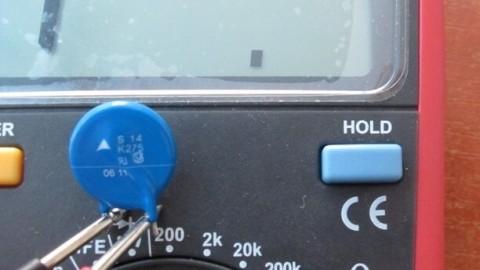 Как проверить варистор: внешний осмотр и прозвонка мультиметром
