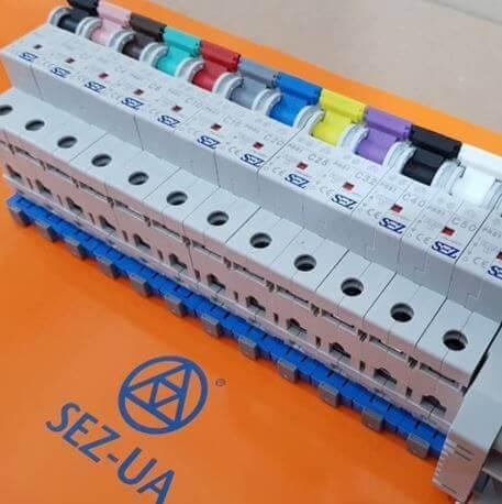 Цветовая маркировка автоматов SEZ