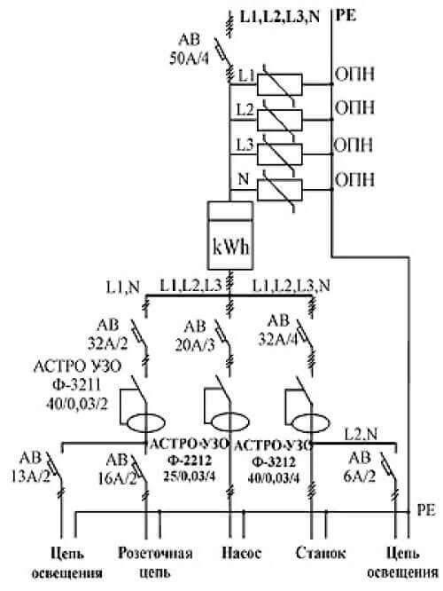 Схема из ТУ