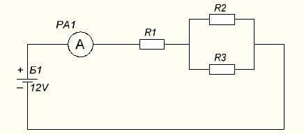 Смешанное соединение в цепи