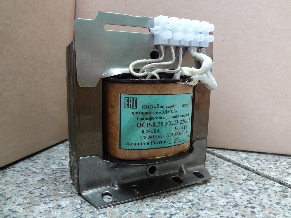 Трансформатор 220-12 В