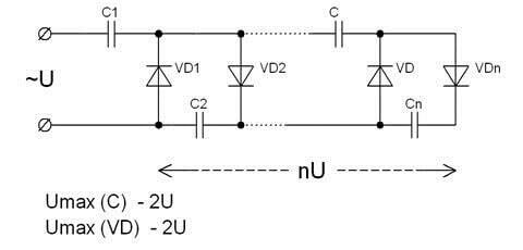 Схема Кокрофта-Уолтона
