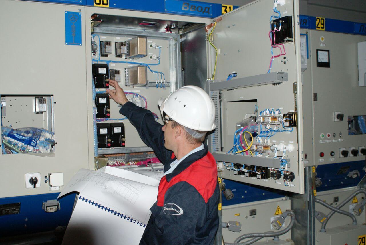 Работы в электроустановке