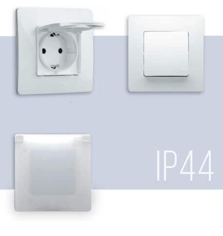 Розетки и выключатели Легранд IP44