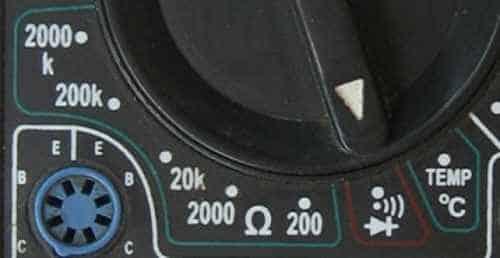 Проверка диодов и звуковая прозвонка