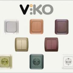 Обзор розеток и выключателей VIKO
