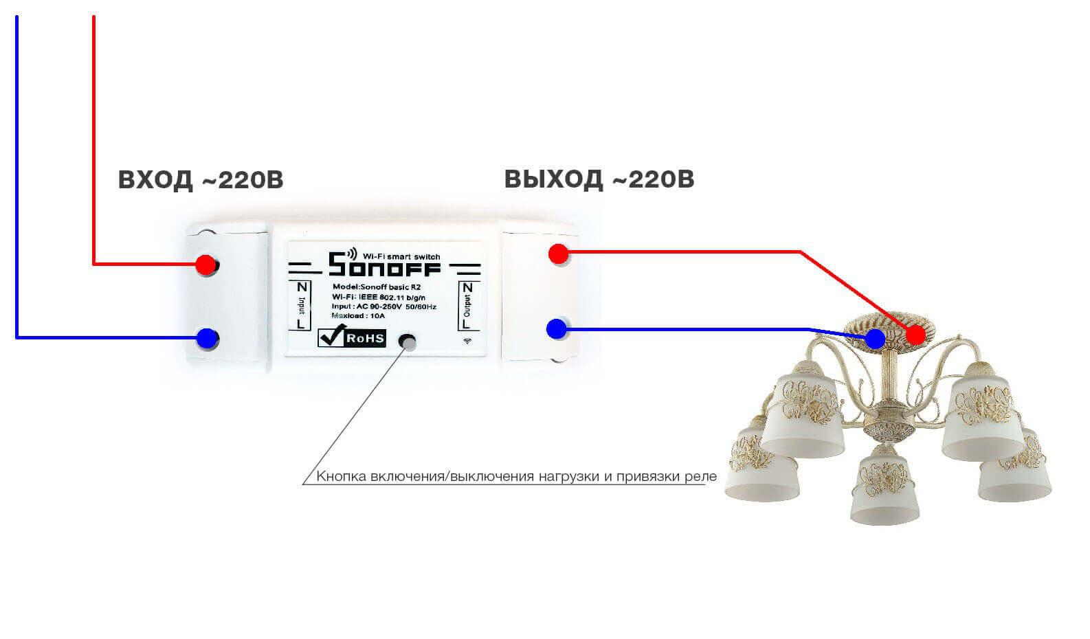Sonoff Basic R2 Schematic