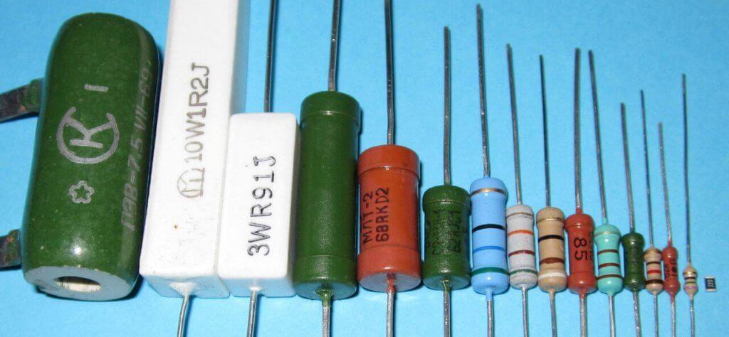 Резисторы разных величин