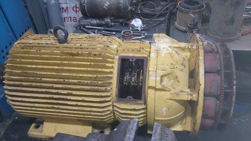 Двигатель с фазным ротором от крана