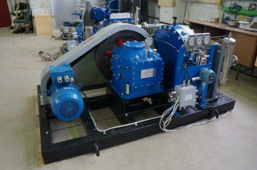 Промышленный мембранный компрессор