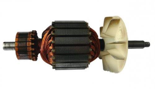 Внешний вид ротора коллекторного двигателя