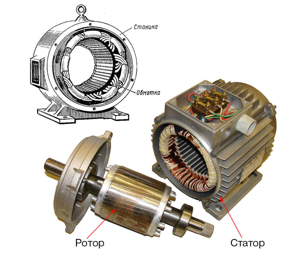 сутки ротор и статор картинки подводного