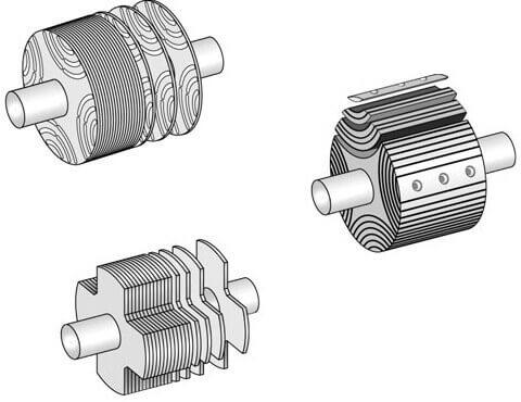 Конструкции ротора реактивного синхронного двигателя