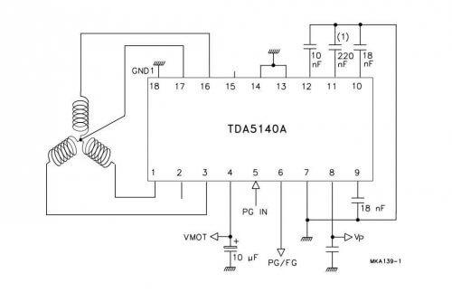 Схема контроллера для BLDC