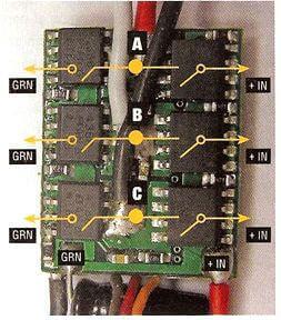 Типовая плата контроллера для трёхфазного БКДПТ