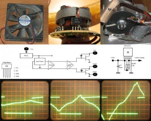 Пример использования датчика из куллера в системе зажигания двигателя с мопеда типа Д-4