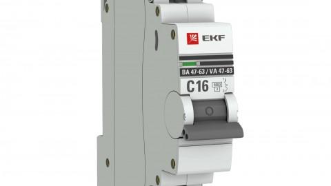 Обзор автоматических выключателей ВА 47-63 EKF PROxima