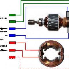 Как осуществить реверс электродвигателя постоянного и переменного тока