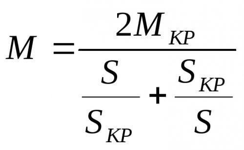 Формула Клосса