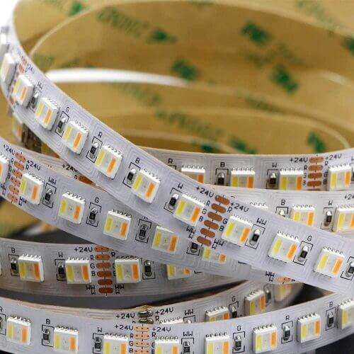 RGBWW-светодиодная ленты
