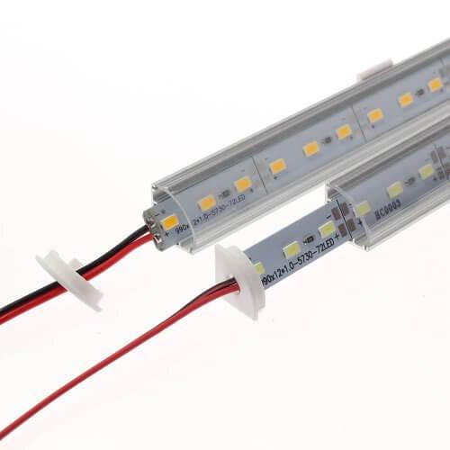 Светодиодные полосы на алюминиевой основе