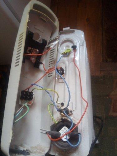 Проводка маслянного радиатора