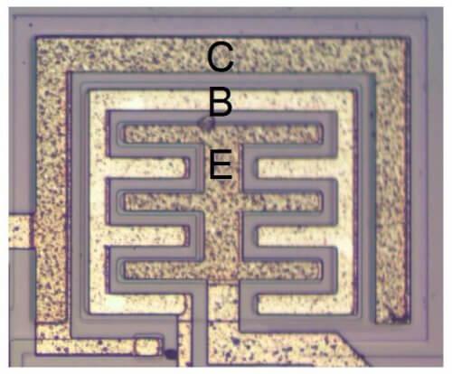 Планарный транзистор