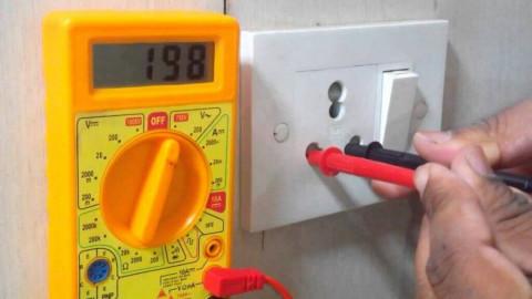 Как измерить напряжение переменного и постоянного тока