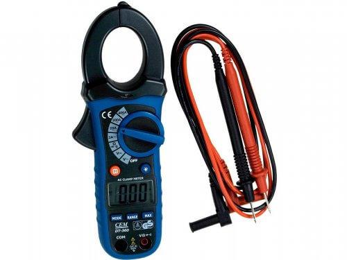 Современные токоизмерительные клещи меряют не только ток, но и сопротивление, напряжение и проверяют диоды