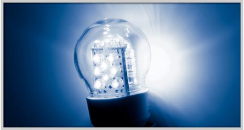 Пример изделия с 5-милиметровыми светодиодами