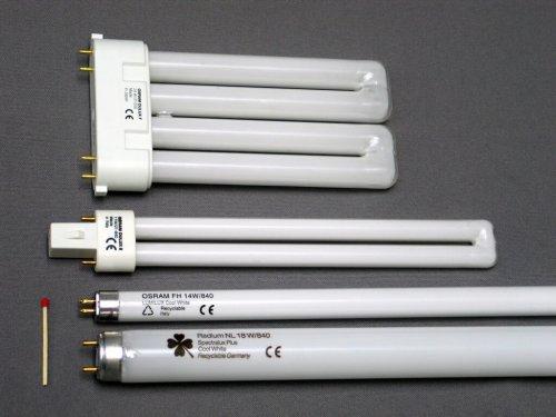 Внешний вид люминесцентных ламп