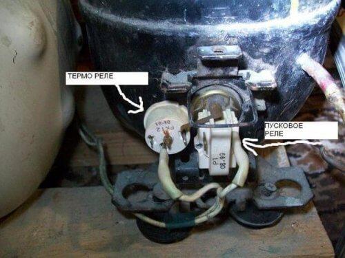 Элементы управления и пуска компрессора