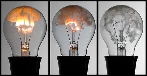 Сгорают лампы накаливания