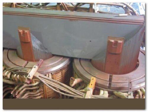 Расклинивание магнитопровода
