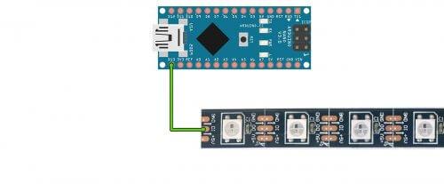 Подключение ленты к Arduino