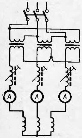 Схема подключения сварочных аппаратов