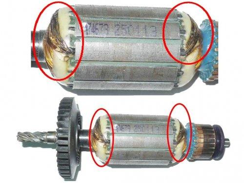 Неисправен ротор и статор