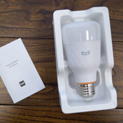 Обзор умной лампы Xiaomi Yeelight Smart Led Bulb 1S (White)