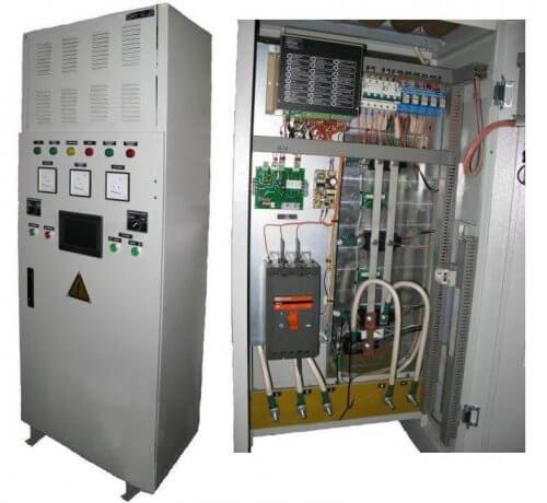 Электронная установка с тиристорным управлением