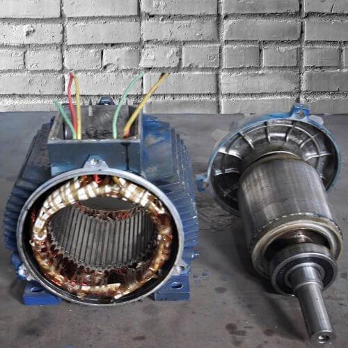Определение обмоток электродвигателя